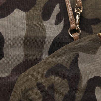 クーコ COOCO ナイロン風プリント折り畳みトート(カモフラージュ) -「買ってから選ぶ。」靴とファッションの通販サイト ロコンド