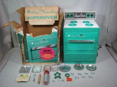 Vintage Toy Cake Ovens