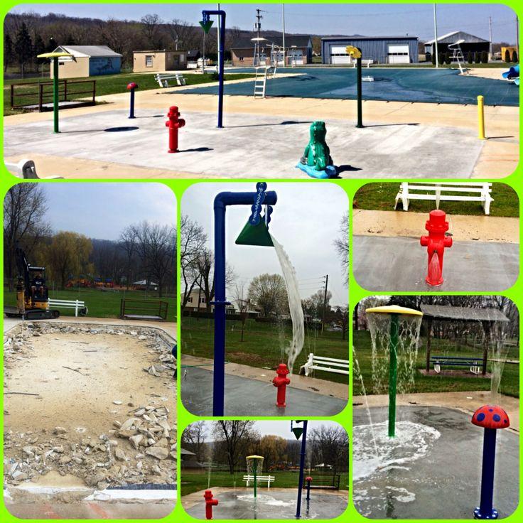 Diy Splash Pad For Dogs: 45 Best Spray Park For Backyard, Park, Daycare Images On