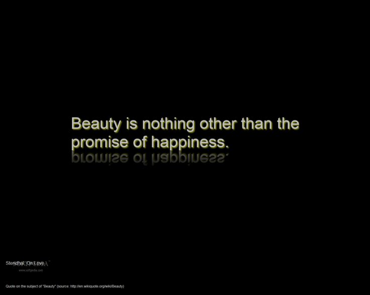 Funny Famous Quotes About Pictures: Beauty Is Nothing In White Font Printed In Black Background