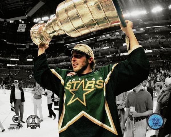 Mike Modano Dallas Stars Stanley Cup Champion www.cojohockey.com