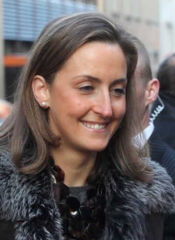 Noblesse & Royautés:  Princess Claire of Belgium, wife of Prince Laurent, celebrates her 40th birthday today January 18, 2014 (b. January 18, 1974)