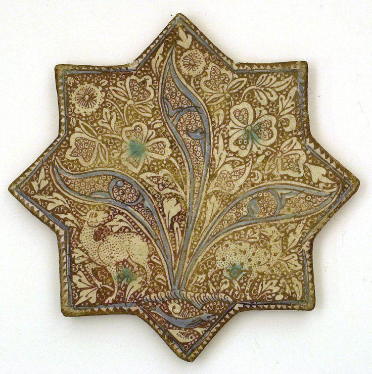 Star Tile, 13th century, Iran