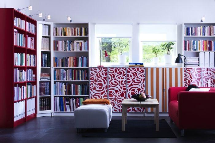 les 25 meilleures id es de la cat gorie biblioth ques billy sur pinterest ikea billy bidouille. Black Bedroom Furniture Sets. Home Design Ideas