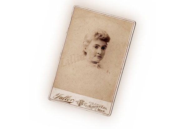 Cabinet Card photo by Fullers of Albert Lea, Minnesota