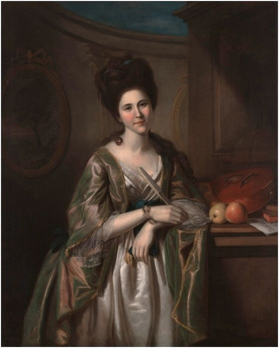 Peale, Charles Willson (1741-1827) - Portrait of Deborah McClenachan