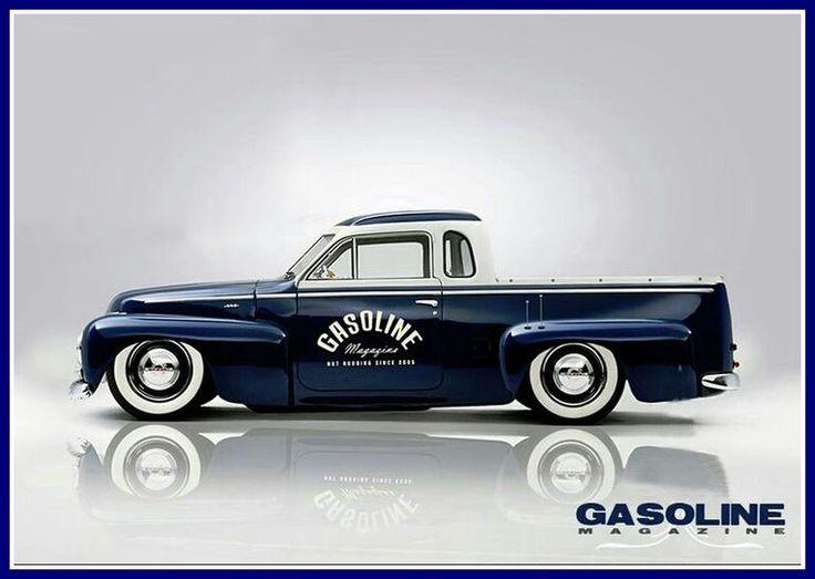 Custom Volvo Duett truck.