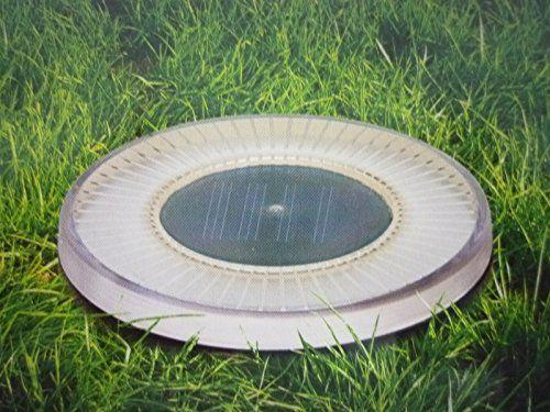 http://ift.tt/1QpbgT3 Solar Bodenleuchte rund mit 4 LED Bodenstrahler Gartenleuchte Solarwegeleuchte Solardekoleuchte rasewi$#