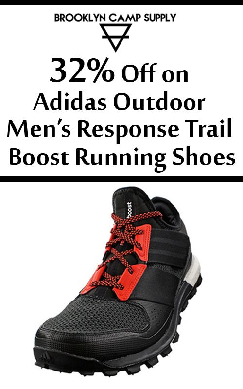 BrooklynCampSupply is offering up to 32% discount on Adidas Outdoor Men's Response Trail Boost Running Shoes. Order now and get this offer.. For more Brooklyn Camp Supply Coupon Codes visit: http://www.couponcutcode.com/stores/brooklyn_camp_supply/