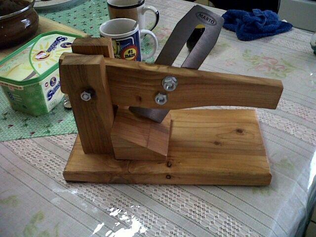 Cedarwood biltong cutter #handmade #chk #ownbusiness #cedarwood
