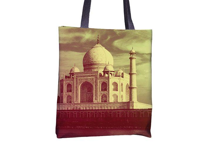 "Tote Bag - ""Taj Mahal"" http://www.lawleypop.ca/shop/product/tote-bag-taj-mahal/ OFFICIAL LAWLEYPOP MERCHANDISE #allover #full #seamless #doublesided #print #printed #printing #lawleypop #lwleypop #lawleypopdesign #lawleypopmerch #fashion #accessories #style #bags #totes #totebags #handbags #shoulderbags #chic #street #urban #unique #custom #photography #landscape #landmark #vacation #spot #international #global #india #indian #muslim #tomb #taj #mahal #wonder #natural #label #logo #brand…"