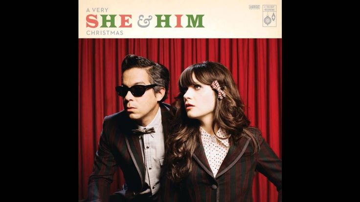 """She & Him - Zooey Deschanel and M. Ward sing 'Little Saint Nick' ... from """"A Very She & Him Christmas"""""""