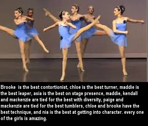 dance moms confessions this is one of the best confessions I've seen