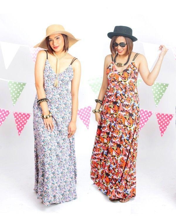 Maleda Reversible Maxi Dress