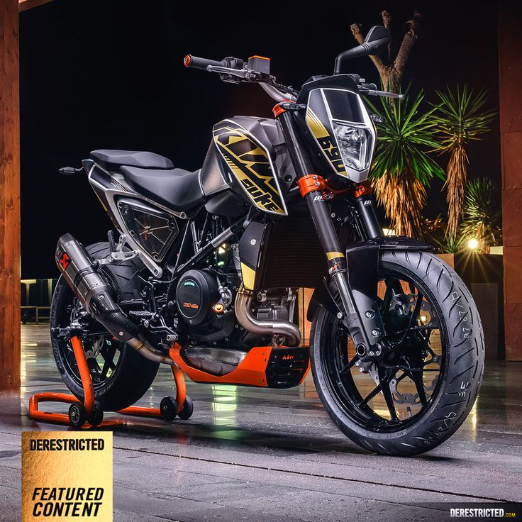 KTM // 690 Duke Powerparts by DERESTRICTED