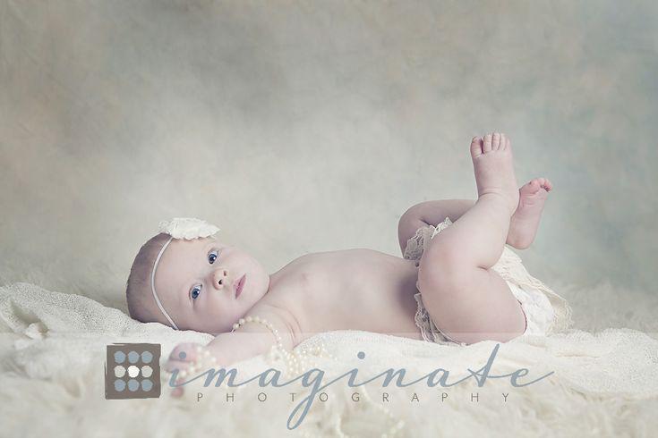 6 Month Old, Baby Adley | Studio Portrait Photographer  ©Imaginate Photography