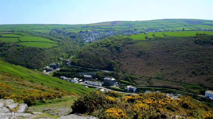 Boscastle, Cornwall from Penally Hill
