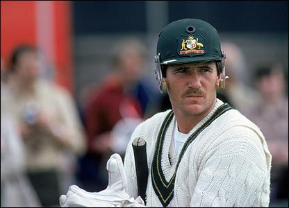 Allan Border revived Australian test cricket in the 80s with his captaincy, his batting and his neat tache.