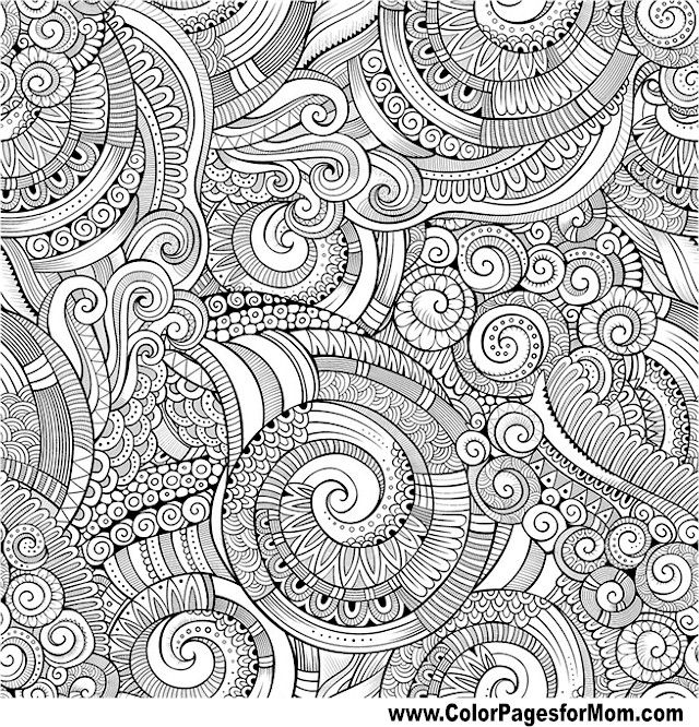 Doodles Coloring Page 100