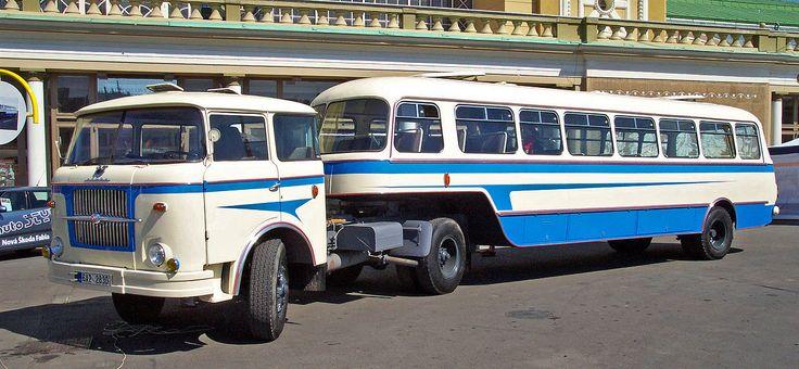 Karosa NO 80 Trailer bus