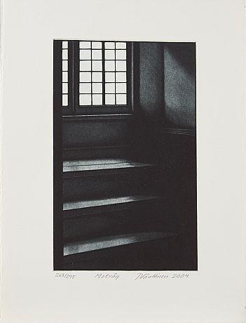 Jukka Vänttinen: Motväg, 2004,  mezzotint, 35x26 cm, edition 268/295 - Stockholms Auktionsverk 5/2016