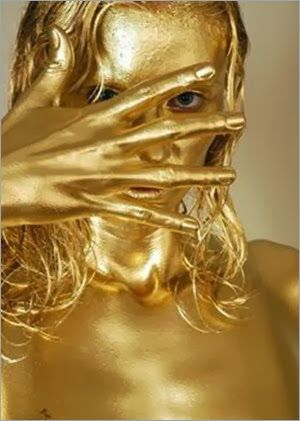 Gold Body Paint Geine