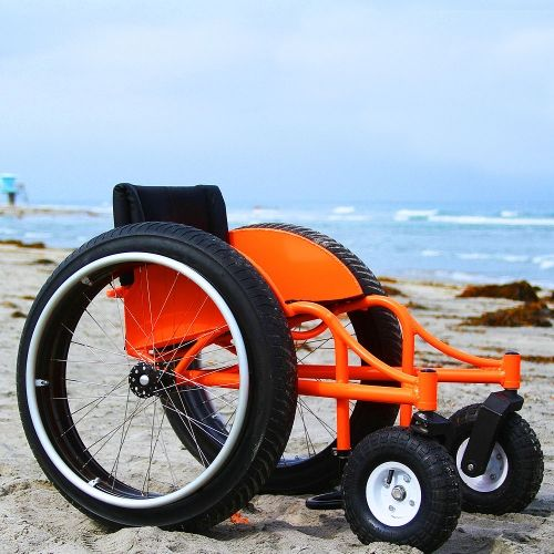 Beach Wheelchair - All Terrain Wheelchair - Offroad Wheelchair....wish list!!