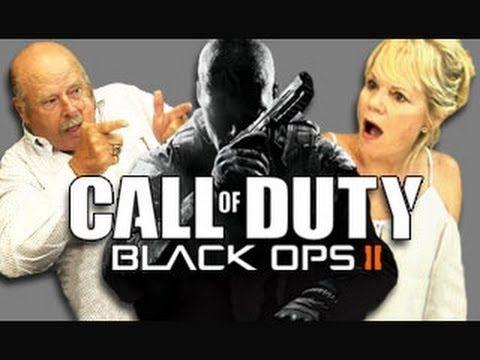 Elders React to Call of Duty Black Ops 2 (Trailer & Gameplay)