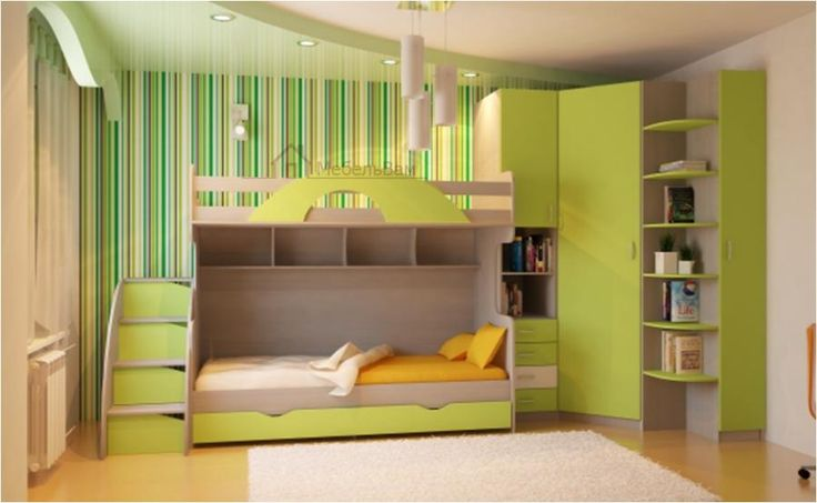 Комплект мебели в комнату для двоих детей z200385   Мебель детская на заказ   Мебель под заказ   Mebel Vam мебель Украина Киев   купить мебель   мебель на заказ