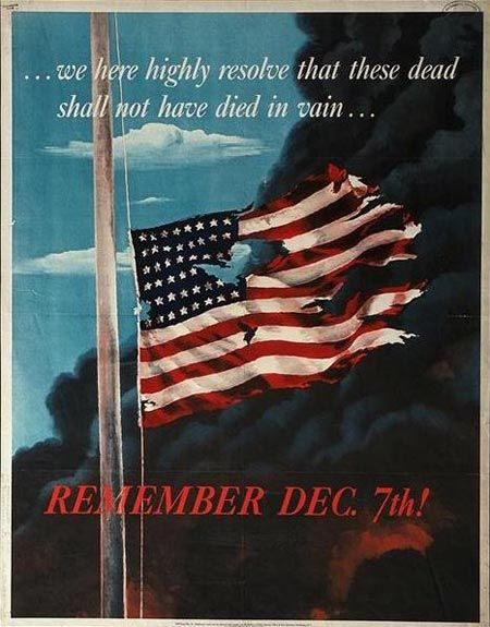 Pearl Harbor ★ December 7, 1941 - God Heal the United States!  God Bless Our Heroes and Heroines that fought to give us time to do so!
