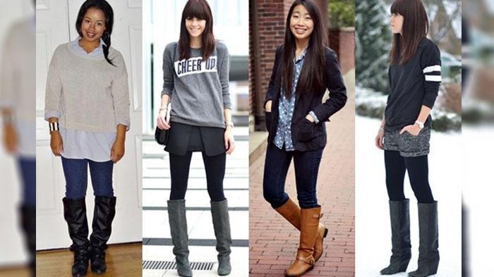 Inilah 7 Inspirasi Style Casual Memakai Sepatu Boots Tinggi Saat Hang Out! Bikin Pria Melongo Guys