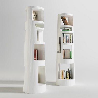 Awesome 5 Interesting Bookshelves