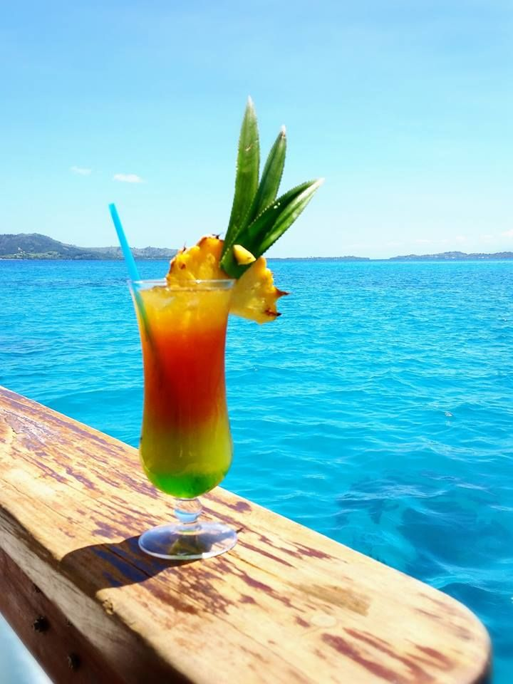 Roro Mocktail - a refreshing drink from the drinks menu on Cloud 9 Fiji