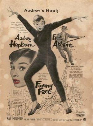 'Funny Face' Film Poster.