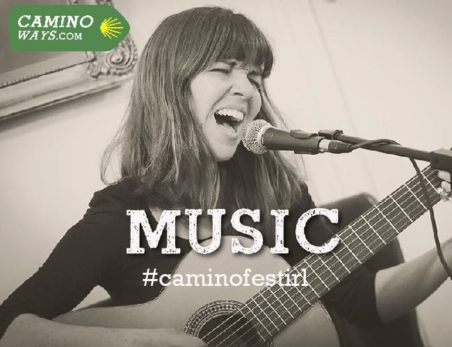 Talented Galician singer Susana Garrido will be playing some tunes at the CaminoWays.com Walking Festival in #Wicklow 27th July. Come and celebrate St James Day with us! #caminofestirl