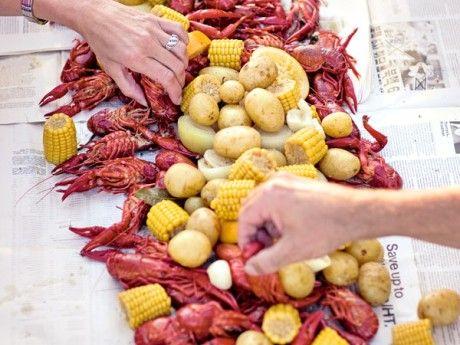 Crayfish - cajun style