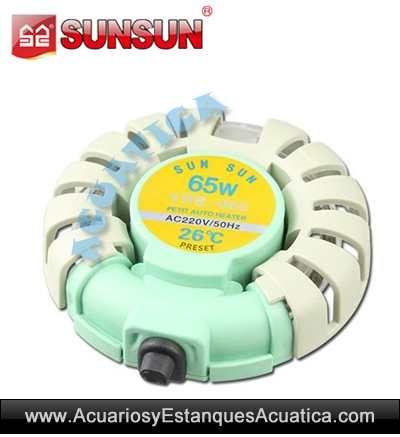 ** 9.00€ ** CALENTADOR MINI 65W ACUARIOS http://acuariosyestanquesacuatica.com/equipamiento-acuario-dulce/989-sunsun-yrb-065-calentador-mini-65w-acuarios.html