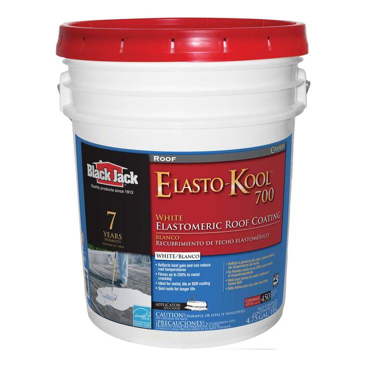 Black Jack ElastoKool 700 Gloss White Acrylic Roof