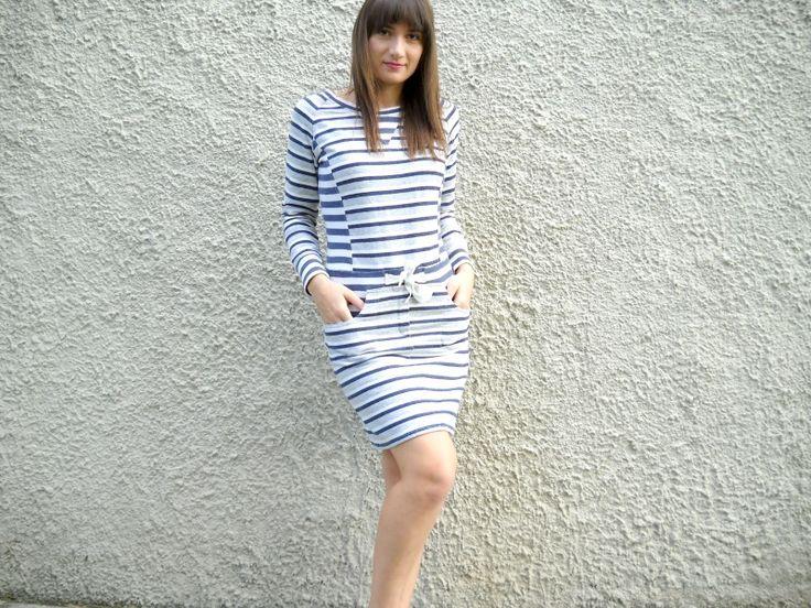 Sweatshirt bow dress http://wp.me/p4OV6a-4F