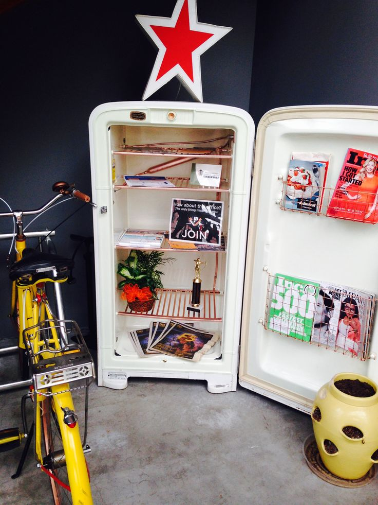 16 Best Images About Repurposed Frige And Freezers On