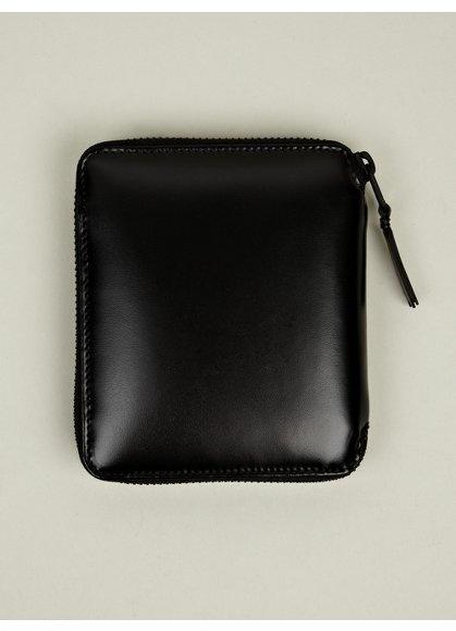 Comme des Garcons Very Black Zip Wallet