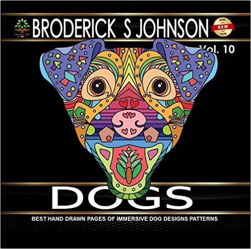8 Best Dog Coloring Books For Adults Images On Pinterest
