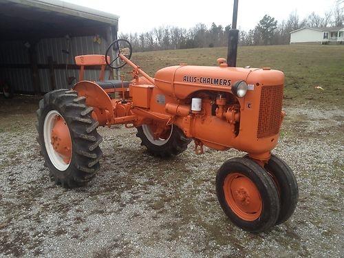 1947 Allis Chalmers C Tractor | eBay