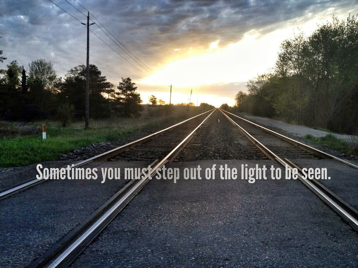 Your light is the most important, not the best. If everybody remembers this we will be fine.