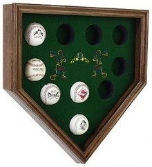 Baseball Display Case Home Plate - WoodWorking Projects ...