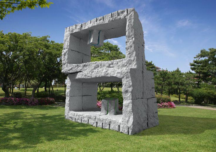 Stone art Sculptor by gunu