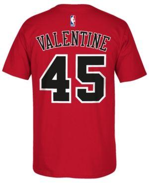 adidas Men's Denzel Valentine Chicago Bulls Player T-Shirt - Red XXL