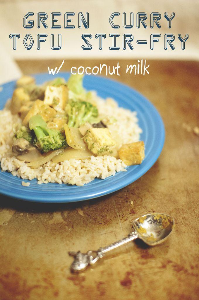 ... , Thai, Vegetarian, Coconut milk, Vegan, Vegetables, Simple, Saute