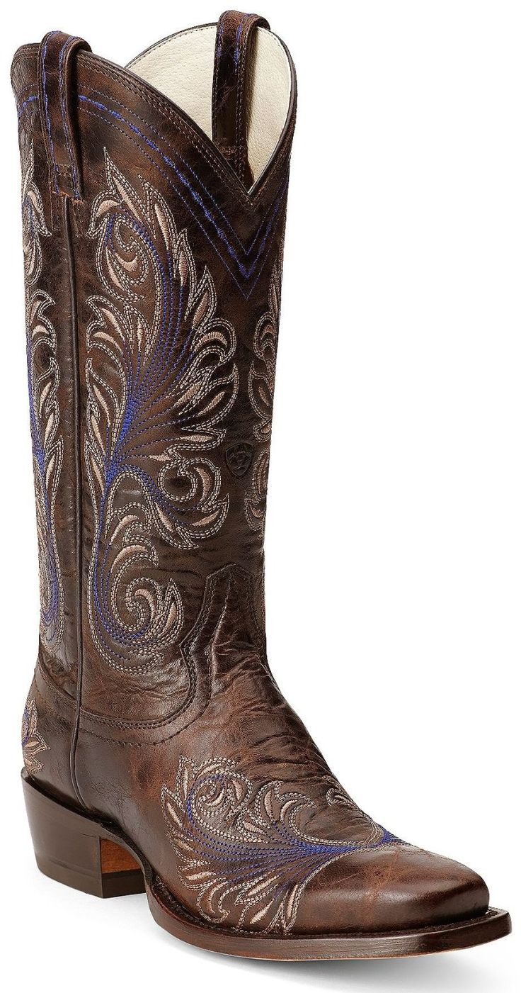 Amazon.com: Ariat Women's Catalina Cowgirl Boot Square Toe: Shoes-SR