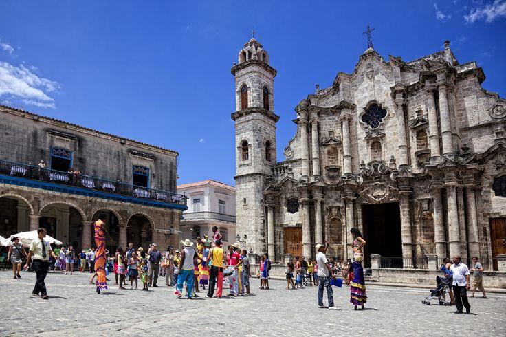 Catedral de San Cristóbal de la Habana, Havana Vieja, Cuba. #Cuba #Travel